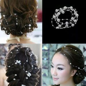 New Pearl Beads Hair Accessory